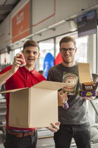 Paul and James of Food Circle Supermarket